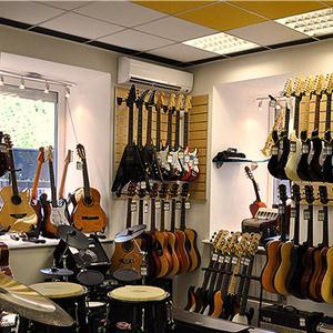 Музыкальные магазины Шаркана